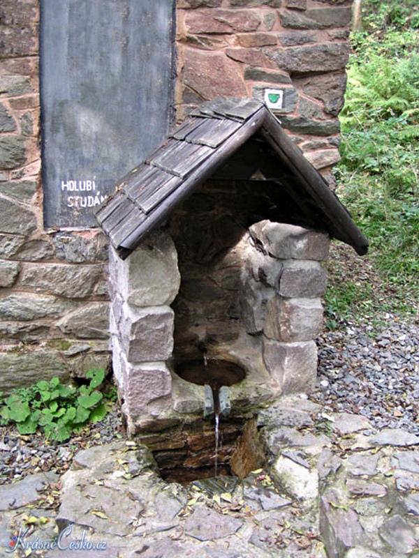 foto Holubí studánka - Vísky u Jevícka (pramen)