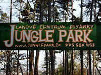 Jungle park - Pisárky (lanové centrum)