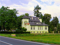 Habermannova vila - Bludov (pension)